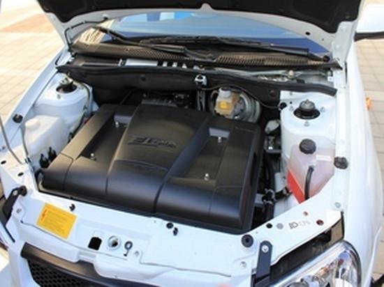 Двигатель Lada Ellada